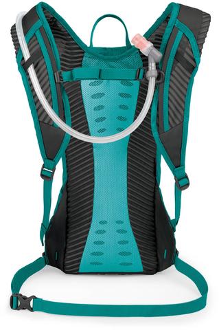 Картинка рюкзак велосипедный Osprey Kitsuma 7 Teal Reaf