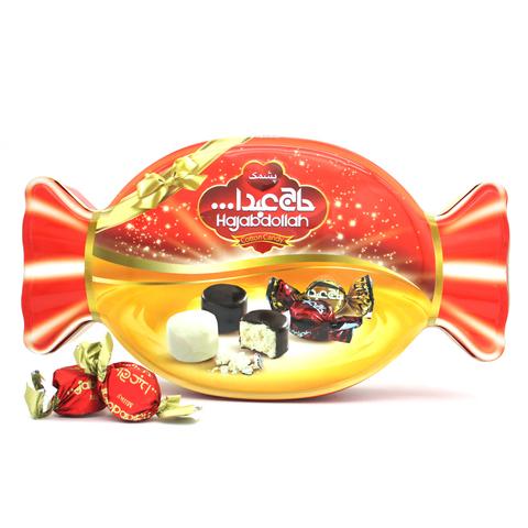 """Пишмание с молочным и ванильным вкусом в глазури """"Кэнди"""", Hajabdollah, 450 г"""