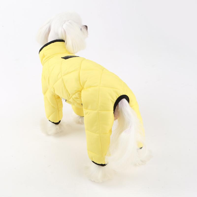 купить стеганный комбинезон для собаки в москве