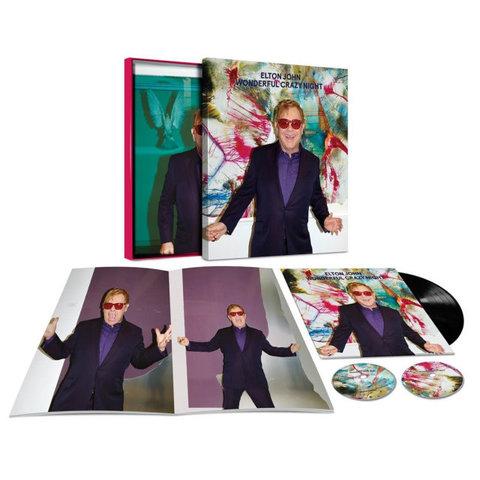 Elton John / Wonderful Crazy Night (Super Deluxe Edition)(LP+2CD)