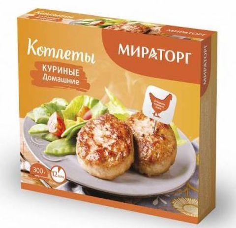 """Котлеты """"Мираторг"""" домашние куриные 300г"""