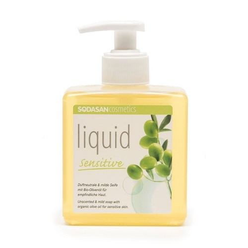 Жидкое мыло, Sodasan, для чувствительной кожи, 300 мл