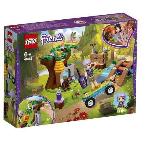 LEGO Friends: Приключения Мии в лесу 41363 — Mia's Forest Adventures — Лего Френдз Друзья Подружки