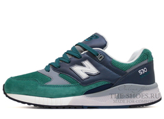 Кроссовки Мужские New Balance 530 Green Grey White Black