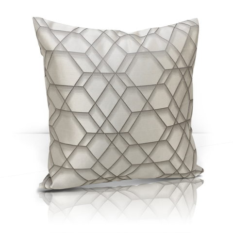Подушка Алмаз серый