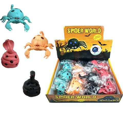 Змейка и Скорпион с шариками Антистресс 1кор*1бл*12 шт