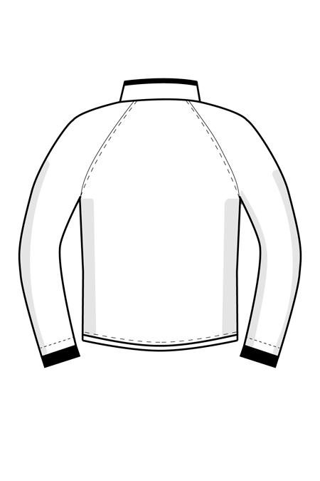 Выкройка мужского блузона