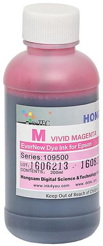 Чернила водные DCTec 7900D vivid magenta dye  200мл. Серия 109500