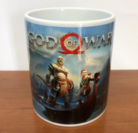 Кружка God of War
