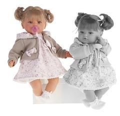 MUNECAS ANTONIO JUAN Кукла Каталина в бежевом, плачущая, 42 см (1668W)