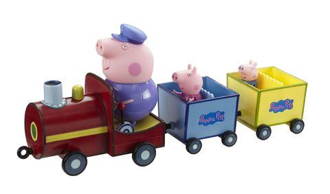 Игровой набор  «Паровозик дедушки Пеппы», со звуком, Peppa Pig
