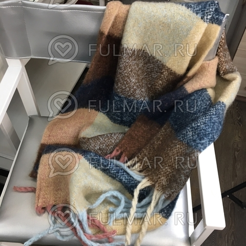 Шарф шерстяной зимний женский (100% шерсть)
