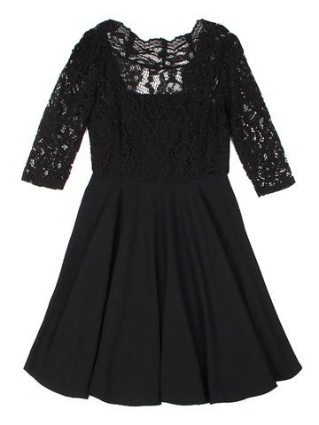 GDR011880 Платье женское, черное