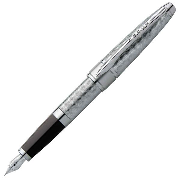 Cross Apogee - Chrome, перьевая ручка, F, BL