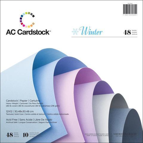 Набор текстурированного кардстока 7 цветов
