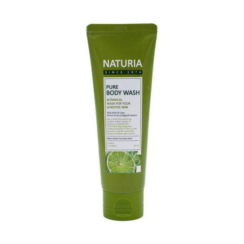 Гель для душа с ароматом мяты, эвкалипта и лайма Pure Body Wash (Wild Mint & Lime), 100 мл