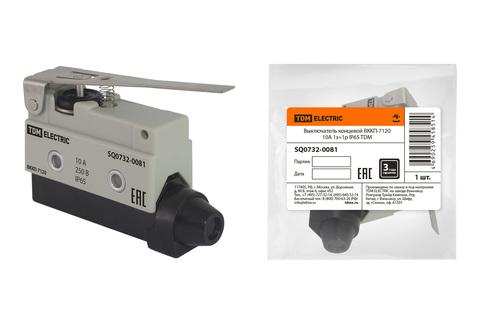 Выключатель концевой ВККП-7120 10А 1з+1р IP65 TDM