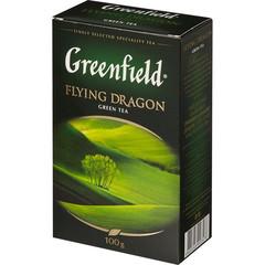 Чай Greenfield Flying Dragon листовой зеленый,100г