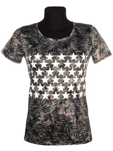 17102 футболка женская, цветная