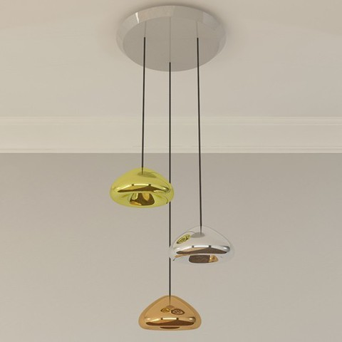 Void 3 Light Multipoint Pendant By Tom Dixon, from Tom Dixon