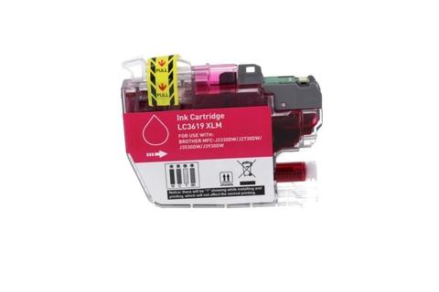 Совместимый картридж LC3619XL M для Brother MFC-J3530, MFC-J3930 пурпурный, повышенной емкости. 1500 стр.