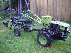 Окучник двурядный профи,регулируемый с колёсами