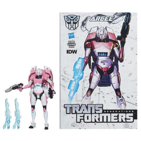 Робот - трансформер Арси с Комиксом (Arcee) - Поколение Трансформеров, Hasbro