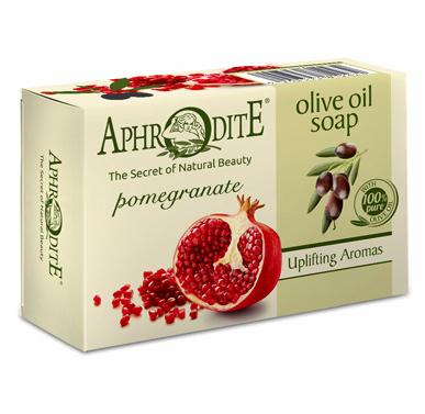 Мыло оливковое с гранатом, Aphrodite