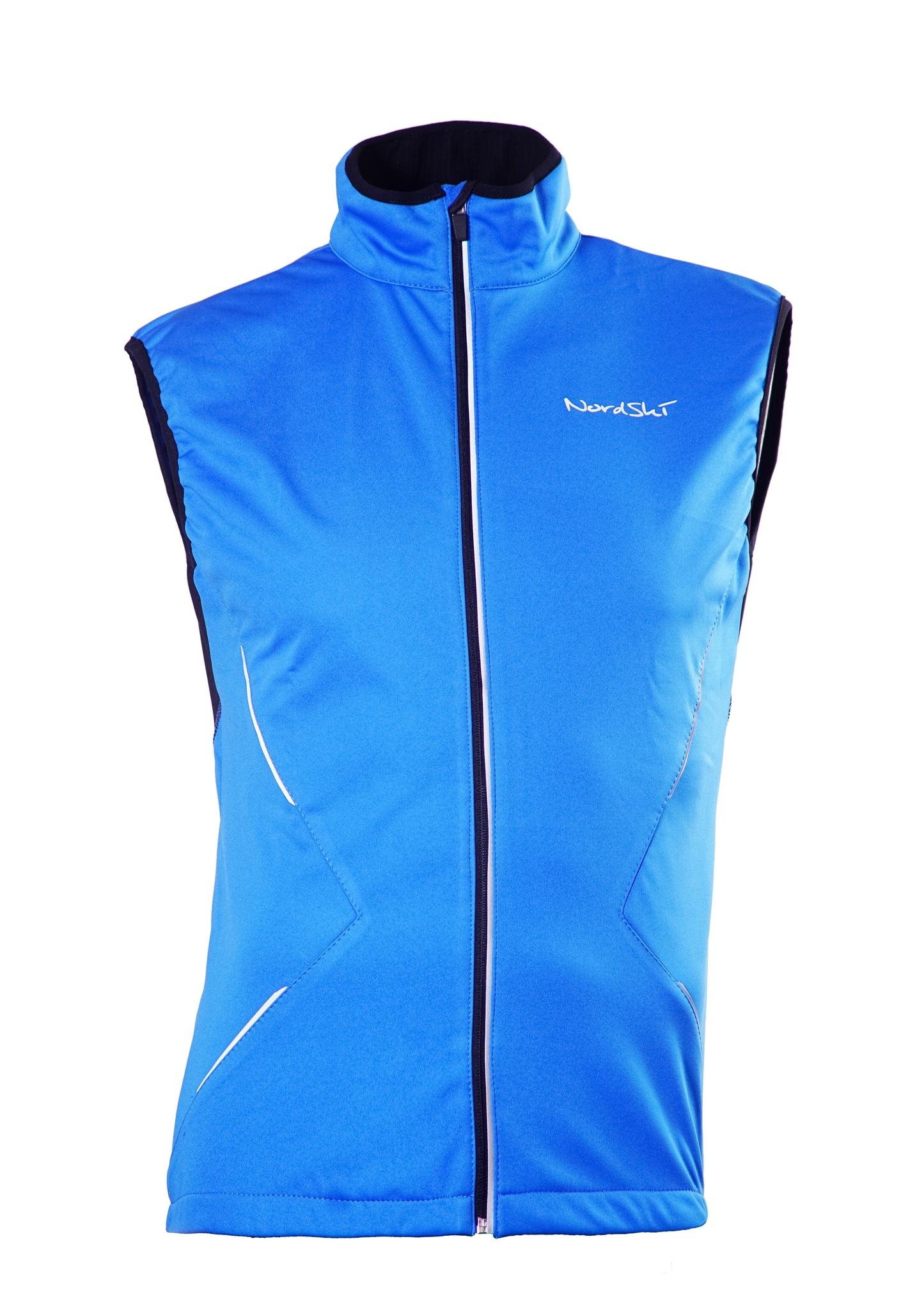 Детский лыжный жилет SoftShell Nordski Premium (NSJ312700) синий