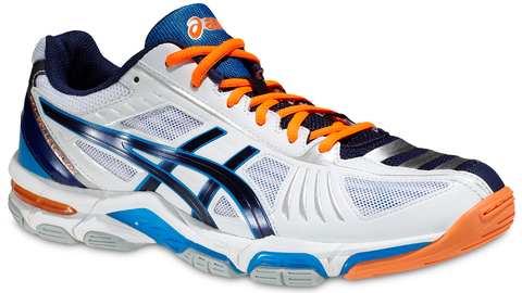 ASICS GEL-VOLLEY ELITE 2 мужские волейбольные кроссовки белые