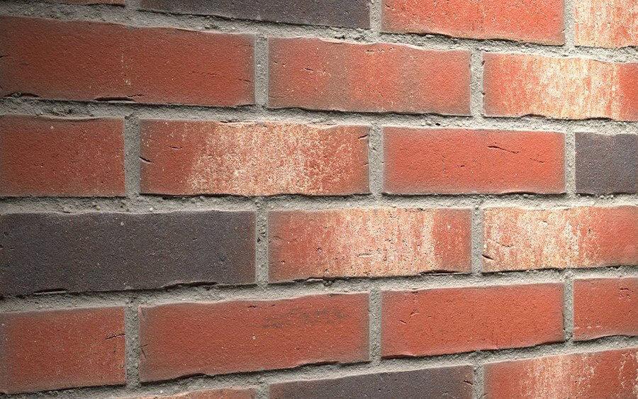 Плитка для фасада и внутренней отделки Feldhaus Klinker, VASCU, R750NF14, поверхность Wasserstrich, ardor rotado