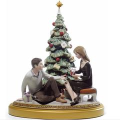 Lladro 1008665 — Статуэтка A ROMANTIC CHRISTMAS