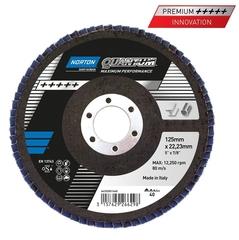 Лепестковый диск NORTON Quantum ø 125x22 R996 P80