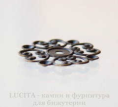 Филигрань 24 мм (цвет - античная бронза)