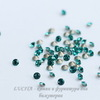 1028 Стразы Сваровски Blue Zircon PP 13 (1,9-2 мм), 10 штук (бц2)