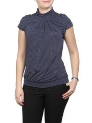 A100-5 блузка женская, синяя