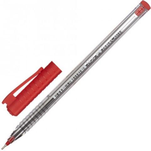 Ручка шариковая Faber-Castell 1430, красный 521021