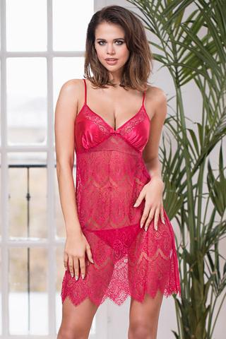 Сорочка Laguna Deluxe 2130 Red Mia-Amore