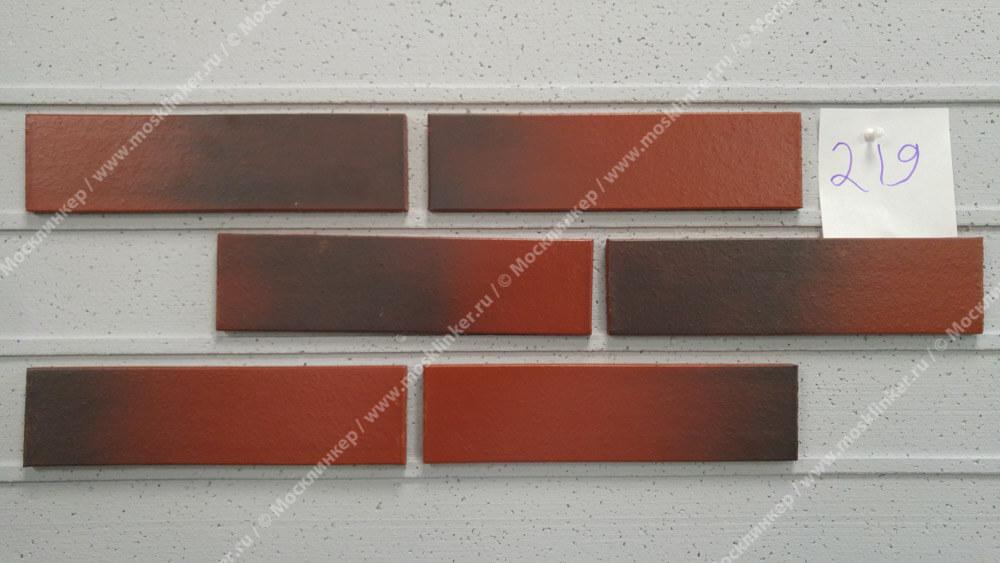 Клинкерная плитка King Klinker, цвет Wild wine (04), Dream House, 65x250x10, RF