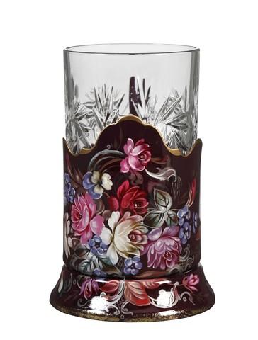 Zhostovo tea glass holder PODS25102018D004