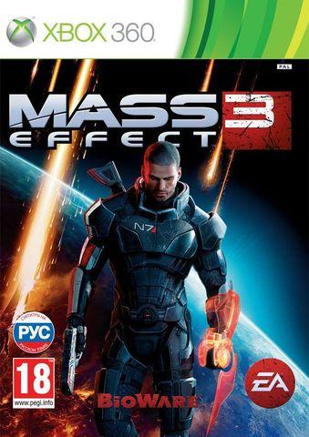 Xbox 360 Mass Effect 3 (с поддержкой MS Kinect, русские субтитры)