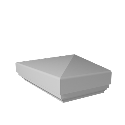 Полукрышка (пирамида) Европласт из полиуретана 4.76.111, интернет магазин Волео