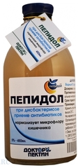 Пепидол ПЭГ (5% р-р), 450 мл. (Элюсан)