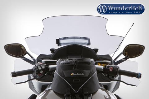 Ветровое стекло (с вентиляцией) BMW K 1600 GT/GTL затемненное