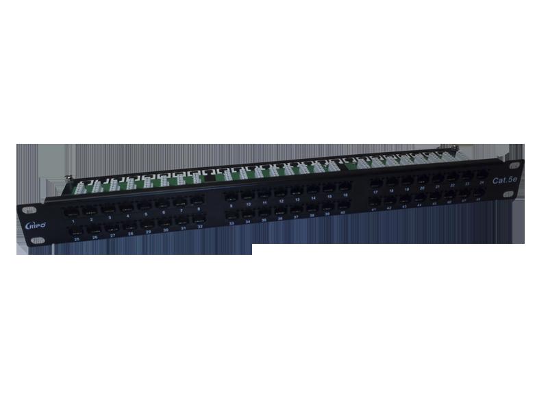 Патч-панель 19, 1U, 48 портов, категория 5е Ripo