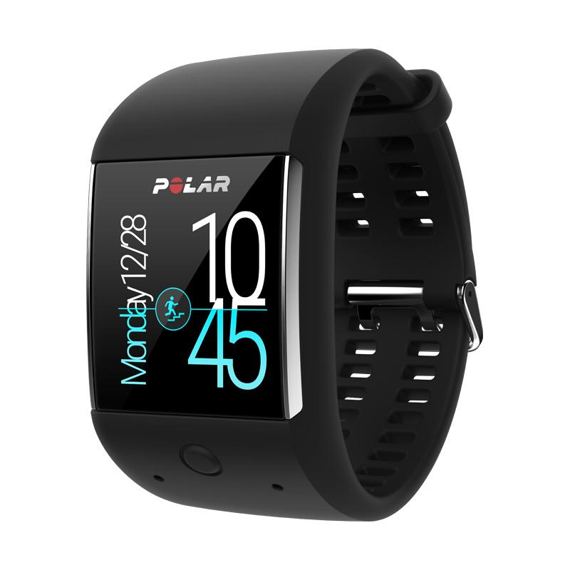 Спортивные смарт-часы Polar M600 black- купить по цене 129000.0 в ... 1b5dde4aec139