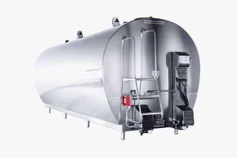 9000 литров | Танк охладитель молока Wedholms DF95L с двумя мешалками