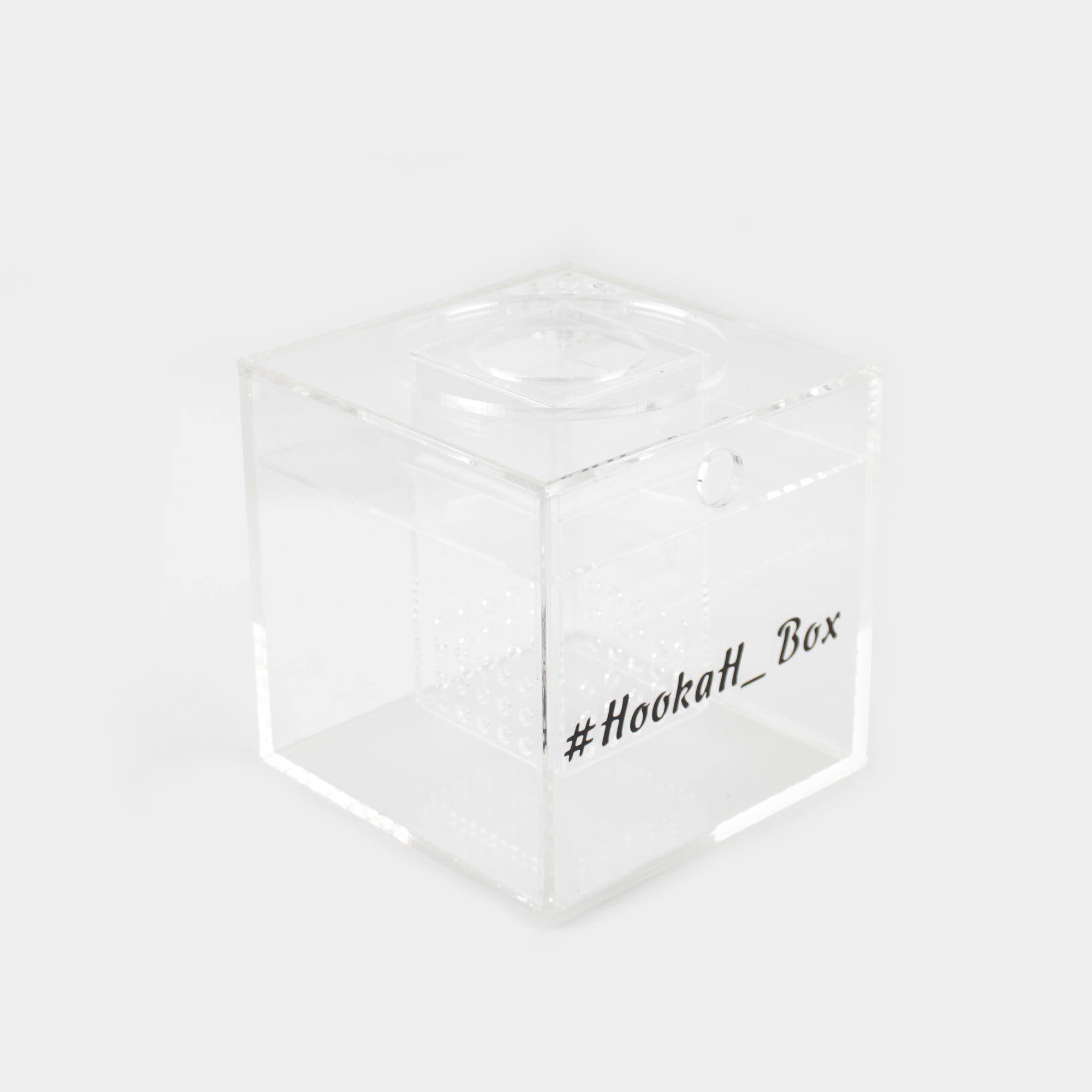 Квадратная колба кальяна Hookah Box Cube