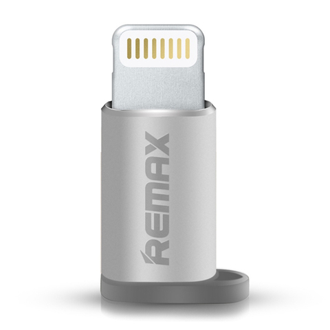 Переходник Remax Visual microUSB / Lightning