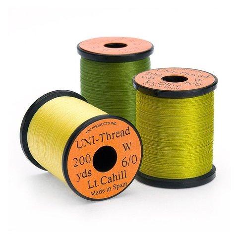 UNI Монтажная нить Uni-Thread 6/0 200y (невощеная)